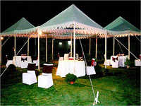 Quadruple Pergola Party Tent