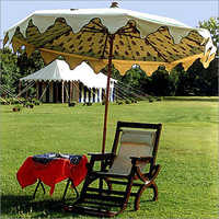 Printed Garden Umbrella