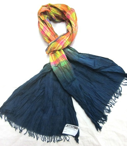 100% Cotton Shaded Scarves