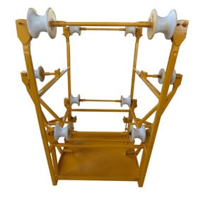 Hex Conductor Spacer Trolley