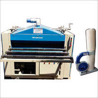 Brush Sanding Machine With Dust Collector