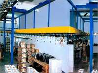 Overhead Fan Testing Conveyor