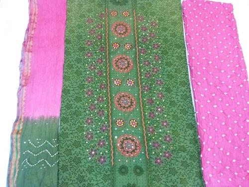 Bandhani Dress Materials | Wholesale