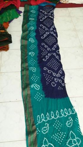 Bandhani Cotton Saree