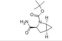 (1S,3S,5S)-3-(Aminocarbonyl)-2-azabicylo[3.1.0]hexane-2-carboxylic acid tert-butyl ester
