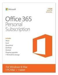 Microsoft Office 365 Personal - box pack (1 year) - 1 phone, 1 tablet, 1 PC/Ma