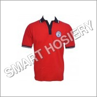 Boys School Red Polo T-Shirt