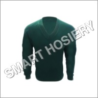 School Dark Green Uniform Sweater