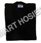 V-Neck Black Pullover Full Sleeves
