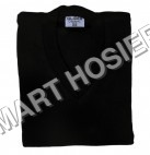 V-Neck Black Pullover Full Sleeves