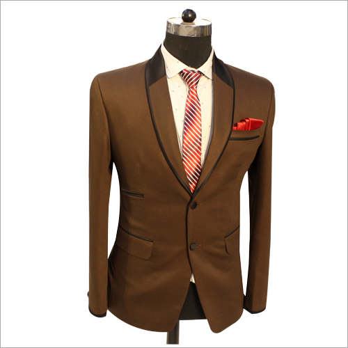 Brown 2 Piece Mens Suits