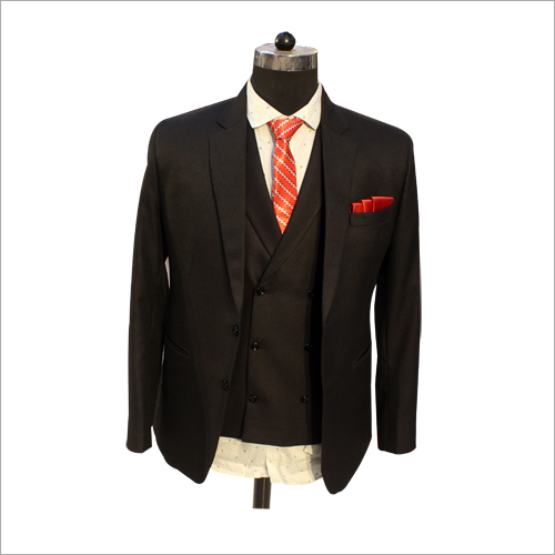 Black Slim Fit 3 Piece Suit