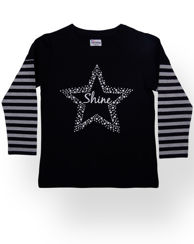 Girls Shine Tops