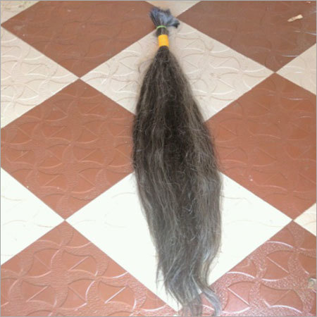 Grey Human Hair Extension