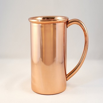 Copper Mug for Moscow Mules - 12 oz size