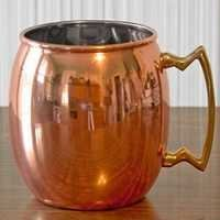 Large Moscow Mule Copper Mug, 24 oz