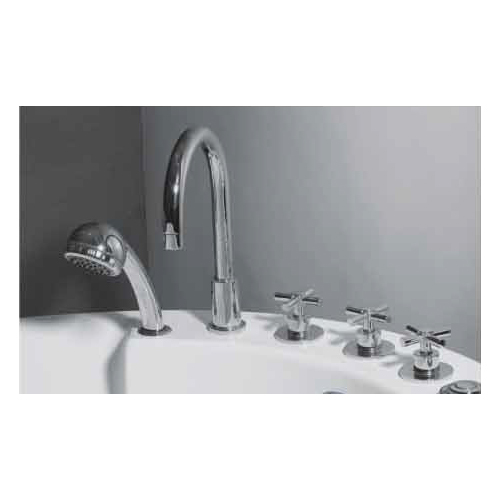 Hot and cold water Filler with Hand Shower
