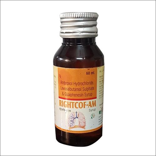 Ambroxol Hydrochloride Levosalbutamol Sulphate & Guaiphenesin Syrup