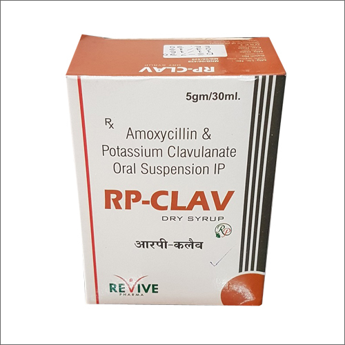 Amoxycillin & Potassium Clavulanate Oral Suspension IP