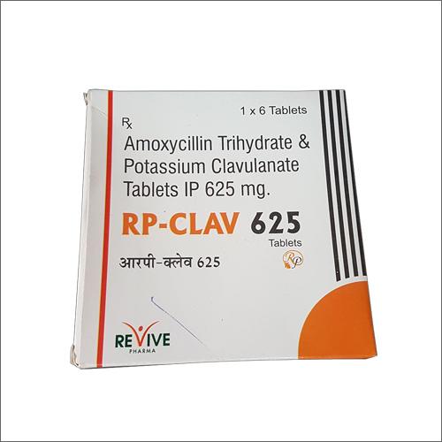 Amoxicillin Trihydrate & Potassium Clavulanate Tablets