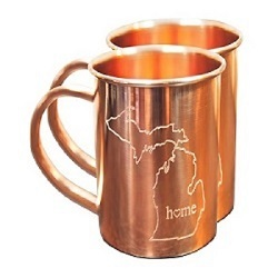 Home State Copper Mugs for Moscow Mules