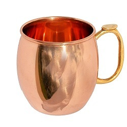 The Benson Moscow Mule Solid Copper Mug