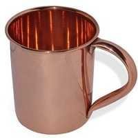 Set of 12 Moscow Mule Copper Mug with Welded Copper Handles