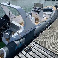 Liya 6.6m/22feet Rib boats Hypalon Inflatable Boat Sports Fishing Boats For Sale