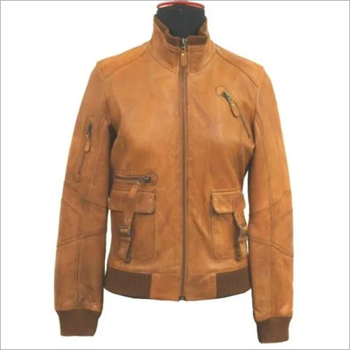 1 Women Leather Jacket