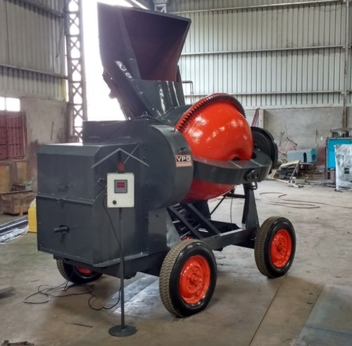 Concrete Mixer - With Loading Hopper