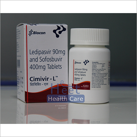 Cimivir L Ledipasvir 90mg Sofosbuvir 400mg