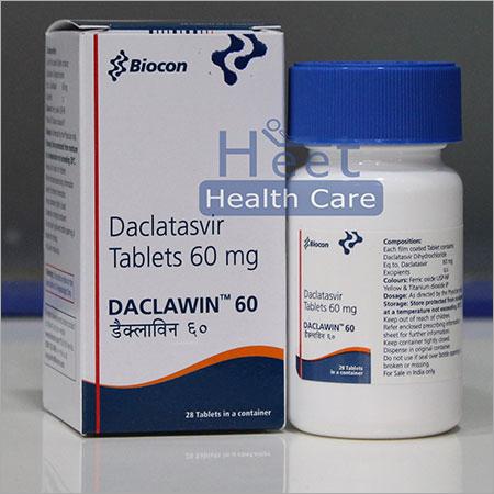 Daclawin Daclatasvir Dihydrochloride Tablets 60mg