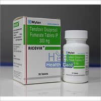 Ricovir Tenofovir Disoproxil Fumarate IP 300mg