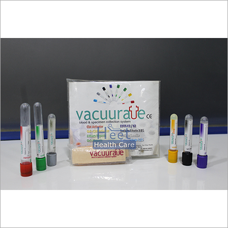 Vacuurate Test Tubes