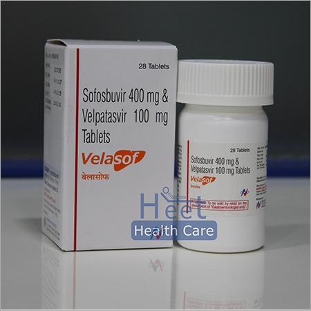 Velasof Sofosbuvir 400mg Velpatasvir 100mg Tablets
