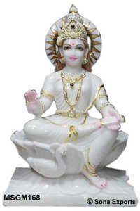 Goddess Gayatri Statue India