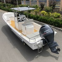 Liya 4.2m-7.6m Commercial Fiberglass Fishing Boats
