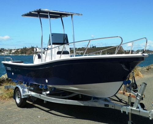 Liya 19 Feet Fiberglass Panga Fishing Boat