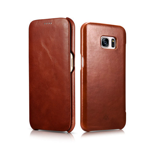 Mobile Leather Flip Cover