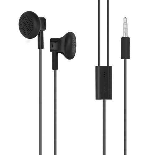 Black Mobile Earphones