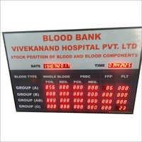 Blood Bank Display