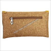 Ladies Jute Clutch Bags