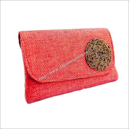 Fancy Jute Clutch Bags