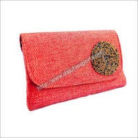 Fancy Jute Clutch Bags