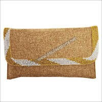 Casual Jute Clutch Bags