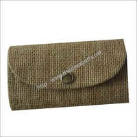 Ladies Designer Jute Clutch Bags