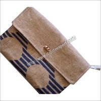 Fancy Jute Clutch Purse