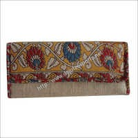 Printed Jute Ladies Clutch Bag