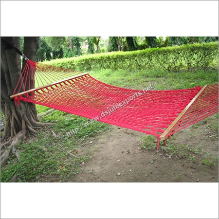Outdoor Jute Cotton Hammock
