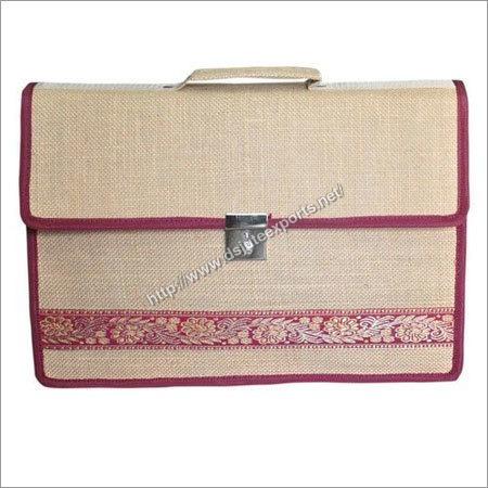 Designer Jute Laptop Bags